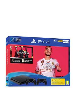 playstation-4-ps4-500gb-fifa-20-bundle-with-additional-dualshock-and-optional-extras