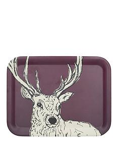 kitchencraft-into-the-wild-stag-large-tray-ndash-255-x-335-cm