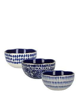 kitchencraft-mikasa-azores-speckle-dipping-bowls-ndash-set-of-3