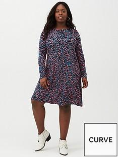 v-by-very-curve-jersey-swing-dress-printednbsp