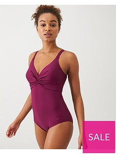 speedo-brigette-twist-front-swimsuit-plumnbsp
