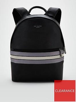 ted-baker-webbing-backpack-black