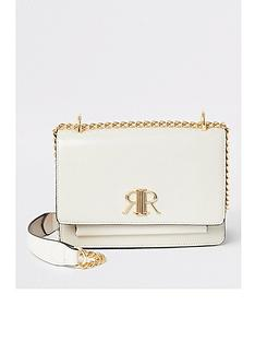 river-island-river-island-branded-foldover-cross-body-bag-beige