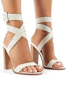 public-desire-rapunzel-heeled-sandals-white