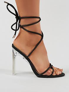 public-desire-amplify-heeled-sandals-black