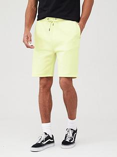 v-by-very-jog-shorts-yellow