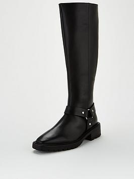 v-by-very-tax-leather-chunky-sole-riding-boot-black