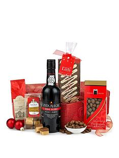 port-and-chocolates-filled-woven-gift-hamper