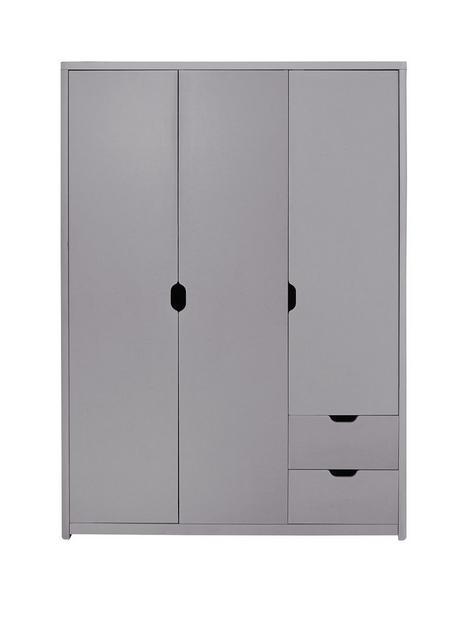 aspen-3-door-2-drawer-wardrobe-grey-oak-effect