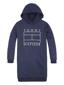 tommy-hilfiger-girls-flag-hooded-sweat-dress-navy