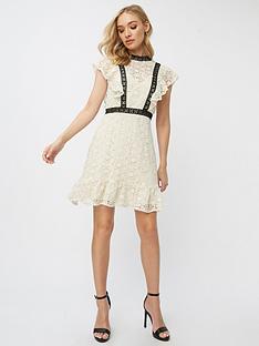 little-mistress-petite-crochet-shift-dress-cream