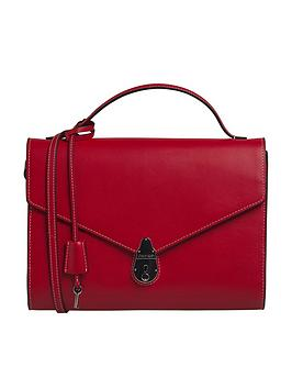 calvin-klein-lock-cross-body-bag-red