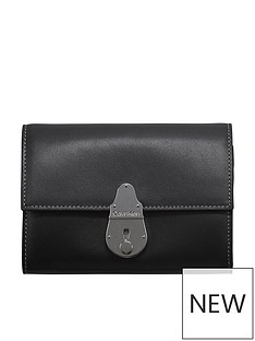 calvin-klein-locked-trifold-bag-black