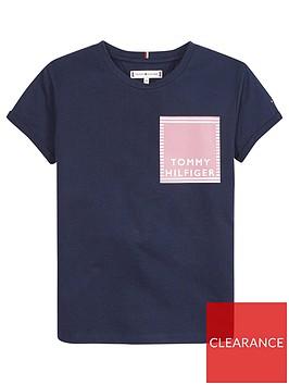 tommy-hilfiger-girls-short-sleeve-graphic-logo-t-shirt-navy