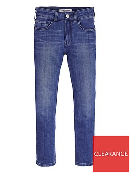 calvin-klein-jeans-boys-tapered-jeans-blue
