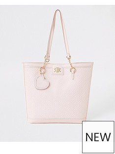 river-island-girls-monogram-shopper-bag-pink
