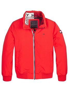 tommy-hilfiger-boys-essential-light-weight-jacket-red