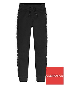 calvin-klein-jeans-boys-mirror-monogram-joggers-black