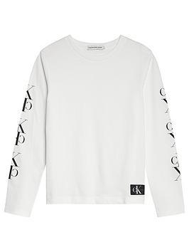 calvin-klein-jeans-boys-mirror-monogram-long-sleeve-t-shirt-white