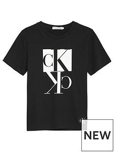 calvin-klein-jeans-boys-mirror-monogram-short-sleeve-t-shirt-black