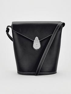 calvin-klein-leather-lock-small-bucket-bag-black