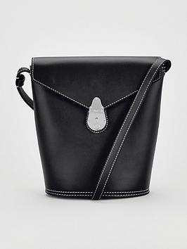 calvin-klein-leather-lock-small-bucket-bag-black