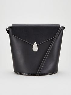 calvin-klein-leather-lock-bucket-bag-black