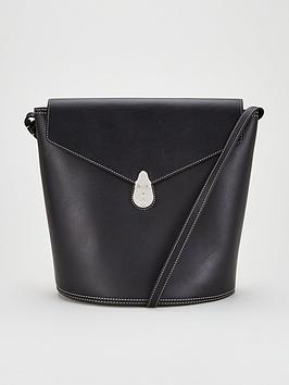 calvin-klein-leather-lock-bucket-bag-black