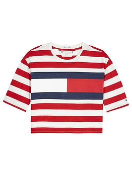 tommy-hilfiger-girls-boxy-stripe-flag-t-shirt