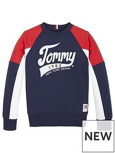 tommy-hilfiger-boys-colourblock-crew-sweatshirt-navy