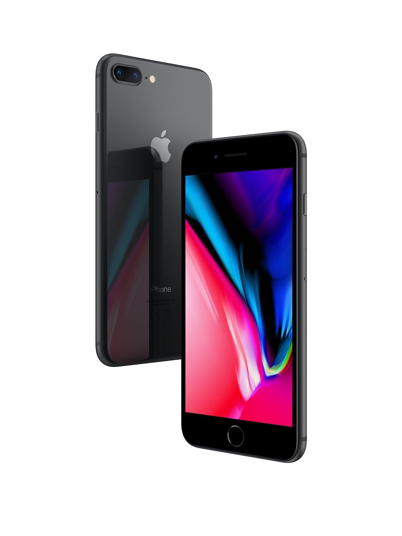 Cover Flip stand per Apple iPhone 7 Plus iPhone 8 Plus - Blu