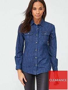 v-by-very-essential-denim-shirt-blue