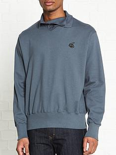 vivienne-westwood-anglomania-orb-logonbsppolo-collared-sweatshirt-grey