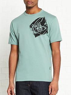 vivienne-westwood-anglomania-classic-large-orb-logo-t-shirt-green
