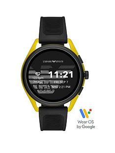 emporio-armani-emporio-armani-gen-5-full-display-gold-dial-black-silicone-strap-smart-watch