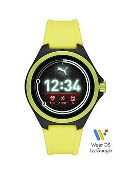 puma-gen-5-full-display-yellow-silicone-strap-smart-watch