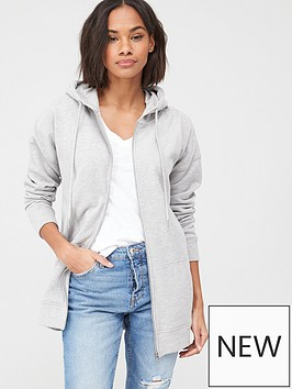v-by-very-zip-through-hoodie-grey