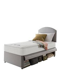 silentnight-maxi-store-divan-bed-set-with-kids-sprung-mattress-and-headboard-grey