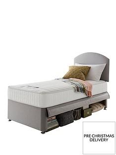 silentnight-silentnight-maxi-store-divan-bed-set-with-kids-sprung-matress-including-headboard-grey