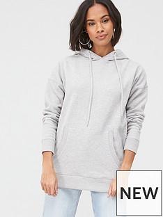 v-by-very-drawcord-fashion-hoodie-grey
