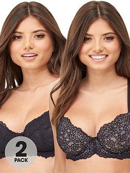 dorina-abigail-2-pack-non-padded-bra-black