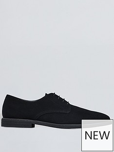 burton-menswear-london-suede-derby-shoes-black