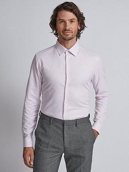burton-menswear-london-short-sleeve-textured-shirt