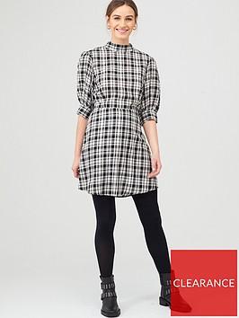 v-by-very-checked-mini-dress-check