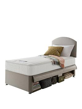 silentnight-maxi-store-divan-bed-set-with-kids-sprung-matress-including-headboard-sandstone