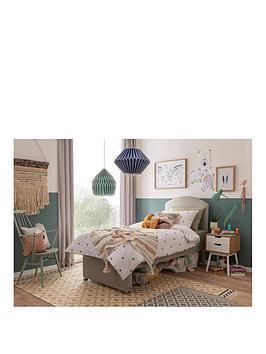 silentnight-maxi-store-divan-bed-set-with-kids-sprung-mattress-and-headboard-sandstone