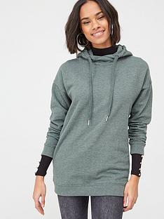 v-by-very-cross-neck-oversized-hoodie-forest-green
