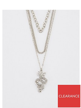 v-by-very-dragon-layered-necklace