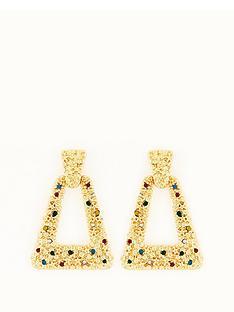 michelle-keegan-multi-stone-door-knocker-earrings-gold