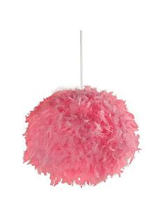 pink-feather-easy-fit-lightshade